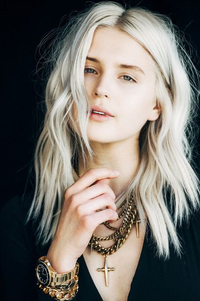 Light Blonde Hair Pale Skin Natural