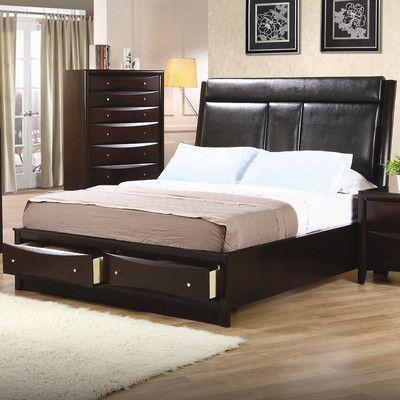 Wildon Home ® Cundiff Storage Platform Bed Wayfair House