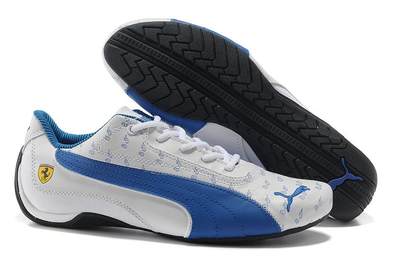 puma shoes men blue