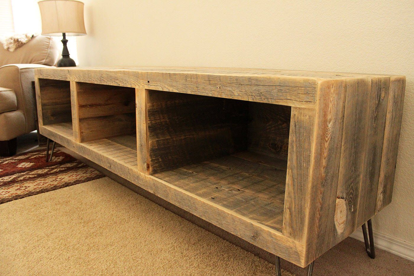 Reclaimed Wood 65 Media Console