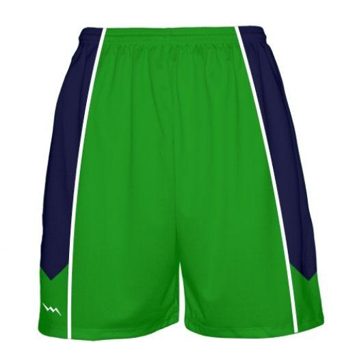 Kelly+Green+Basketball+Shorts