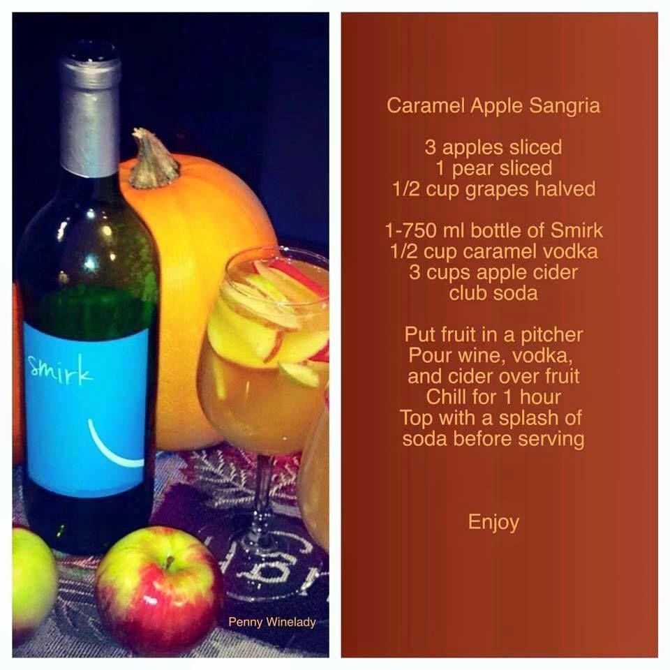Caramel Apple Sangria Made With Smirk Www Myttv Com 23325 Wine Winecocktails Sangria Wineguide4life Apple Sangria Traveling Vineyard Caramel Apple Sangria