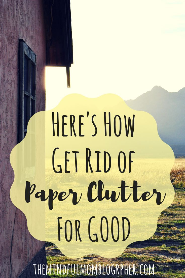 How to Reduce Paper Clutter is part of Organization Work Paper Clutter - The ultimate guide to decluttering paper at home, reducing paperwork overall, and how to organize paper clutter