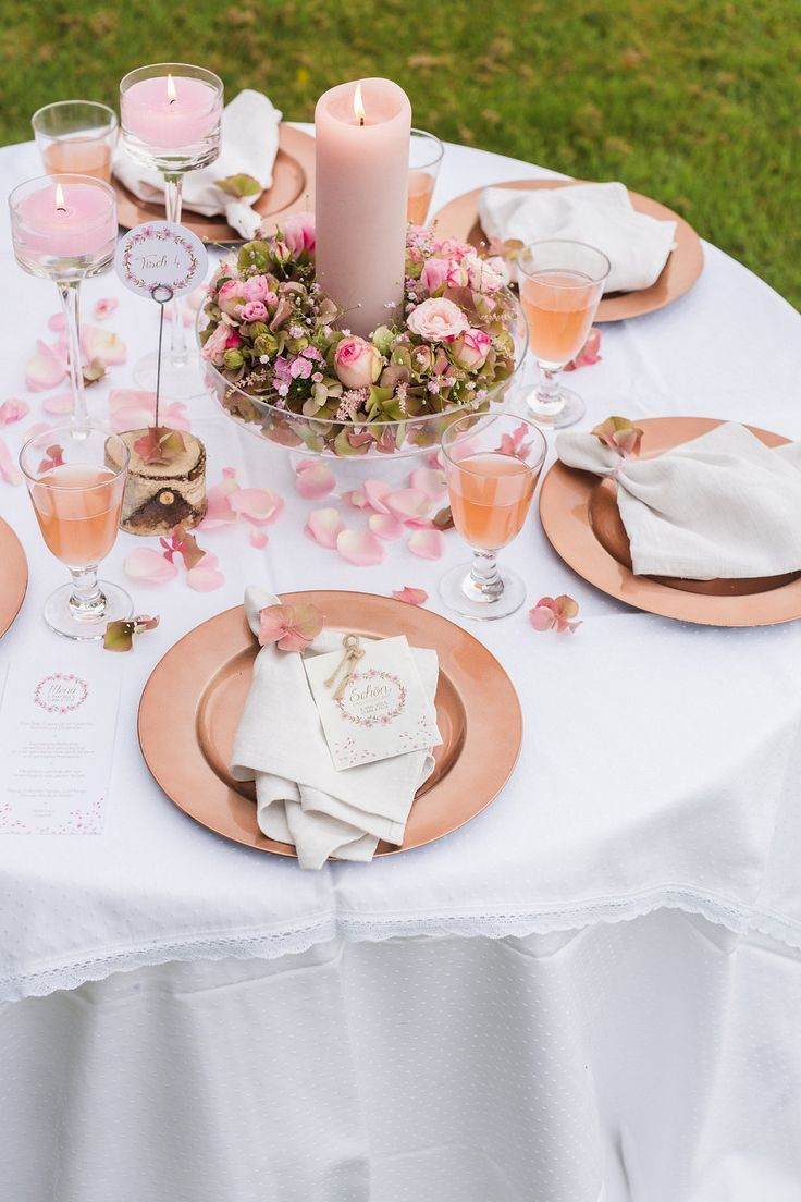 10 Ideas for Wedding Table Decorations - Part 2  #decorations #ideas #table #wed... #tischeindecken