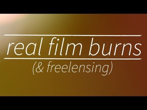 Real Film Burns And Freelensing Adobe After Effects