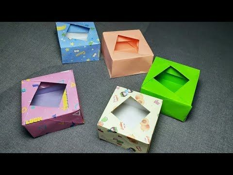 3 Easy Modular Origami Boxes Tutorial | Creative DIY - YouTube ... | 360x480