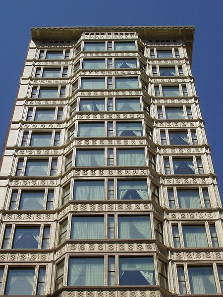 Reliance Building - Chicago 1890 - 1895 - John Root, Charles B. Atwood - Ceramic facade