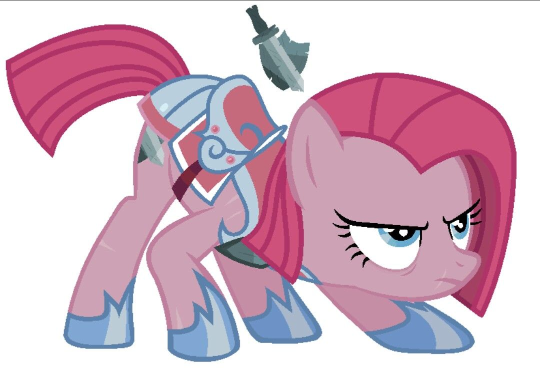 Pinkie Pie In Armor Mlp In Armor Mlp My Little Pony
