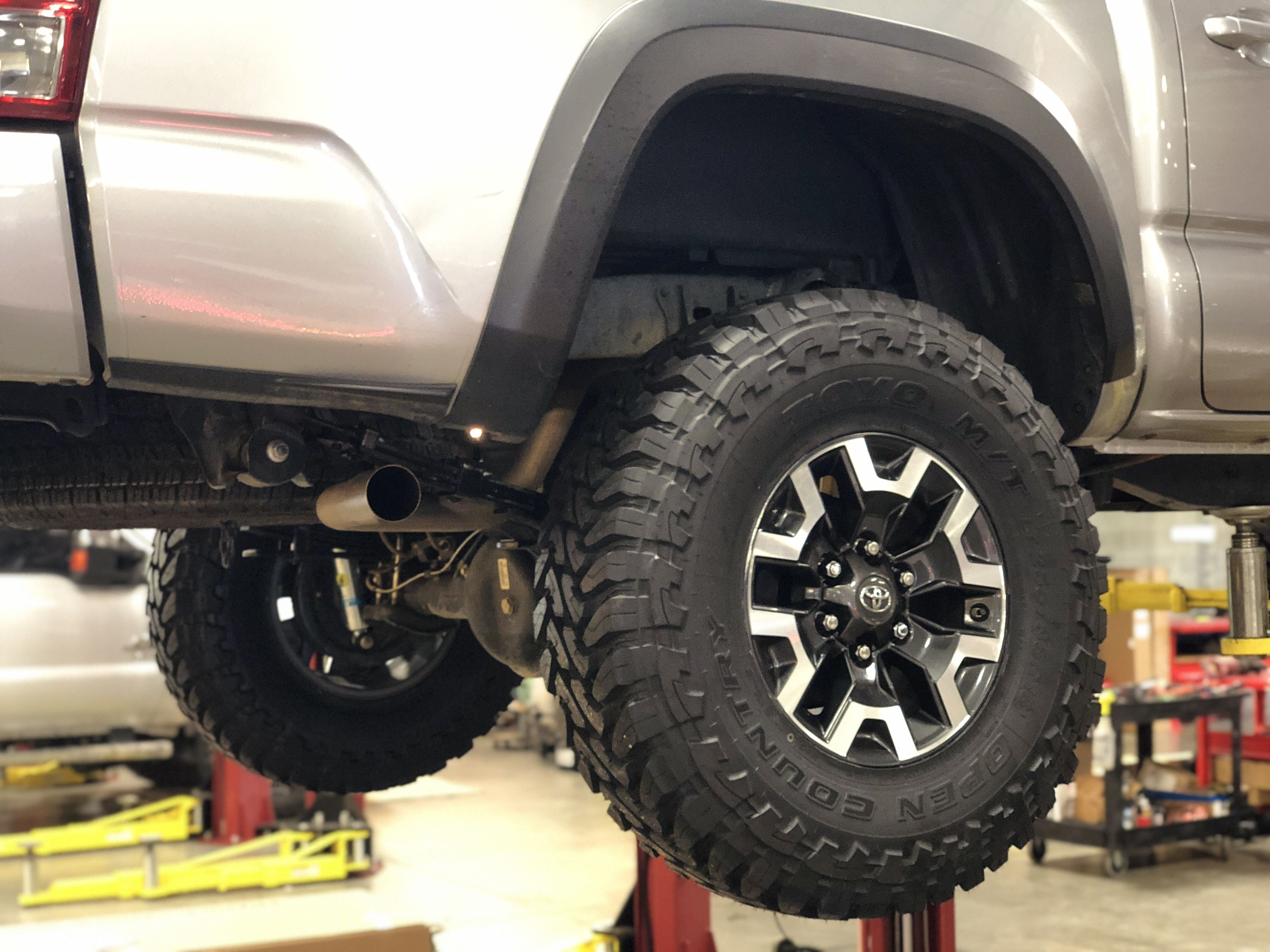 255 85 R16 Toyo Open Country M T On Trd Off Road Wheels Toyota