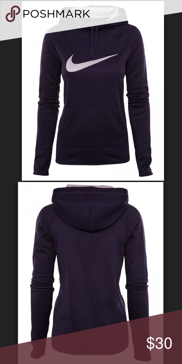 3e437af4 Nike Therma Training Hoodie Womens Size M New with tag Color Purple Size M  Armpit to armpit 20.5