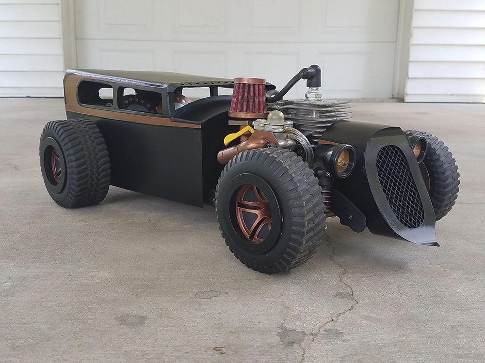 Custom, Hot Rod, 1/5-scale, Gas-powered, Homelite