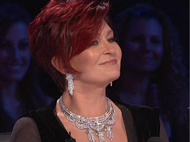 America S Got Talent Season 4 Semi Finals Sharon Osbourne Wearing Jewelry From Beladora Antique And Estate