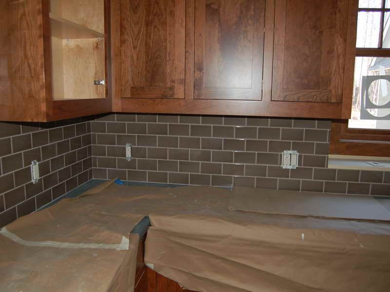 12 Subway Tile Backsplash Design Ideas Installation Tips Gray
