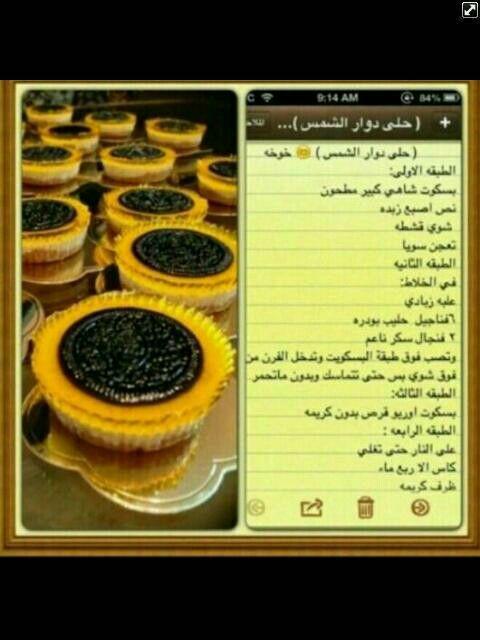 حلا دوار الشمس Food Breakfast Muffin