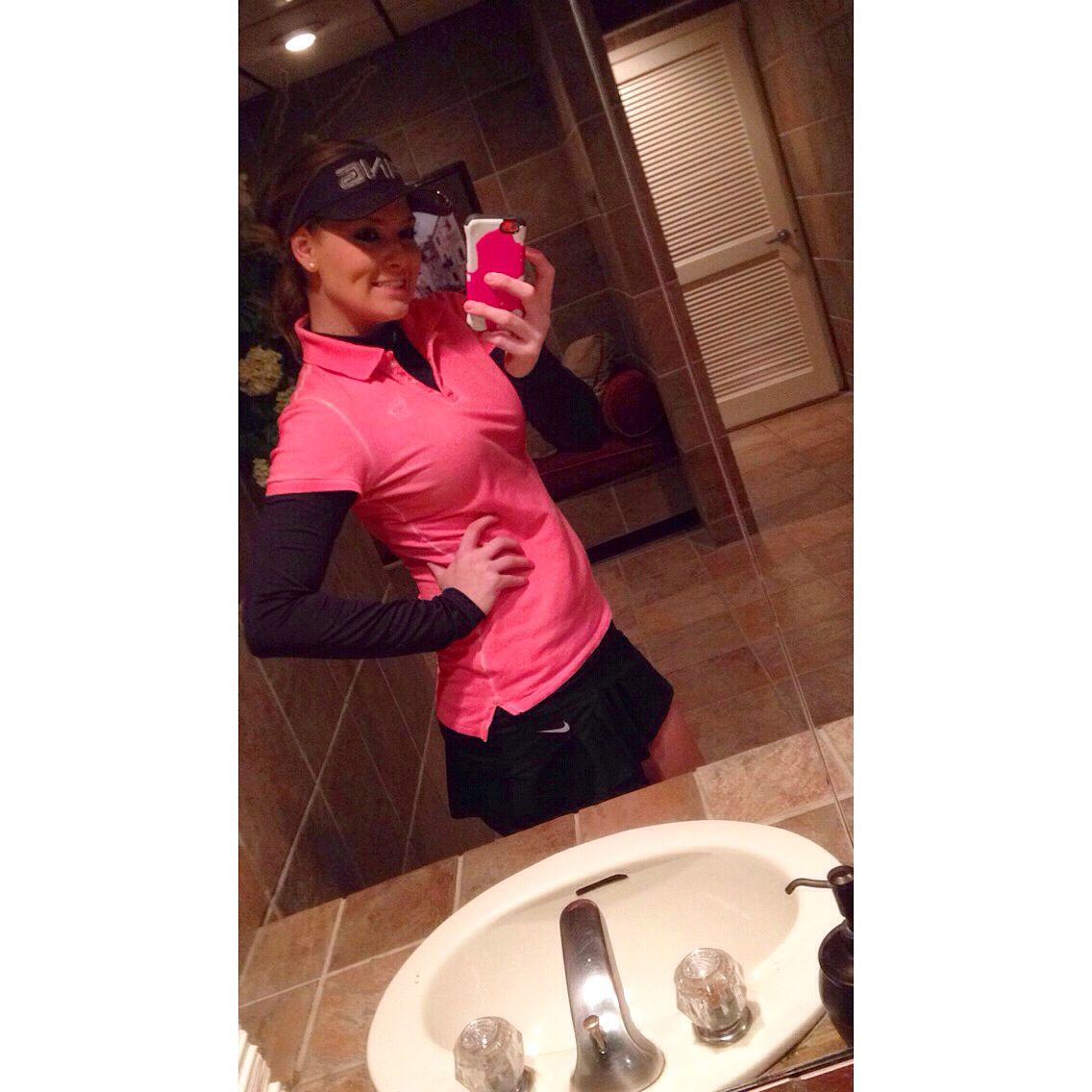 MY OWN golf outfit from last weekend #golf#golfgirls#golfing#golfoutfit#golffashion
