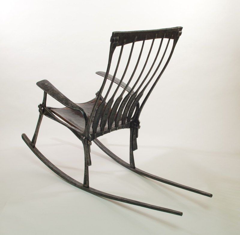 Pin By Nick None Of Your Business On Blacksmithing Rocking Chair