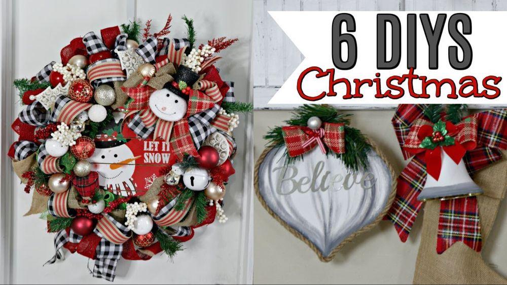 "6 DIY DOLLAR TREE CHRISTMAS DECOR CRAFTS 2019🎄 ""I Love"