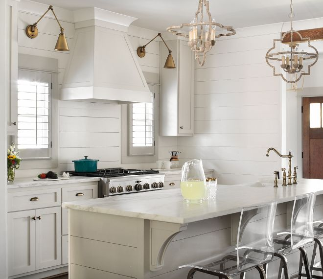 Modern Craftsman Farmhouse Design Paint Color Kitchen Cabinets