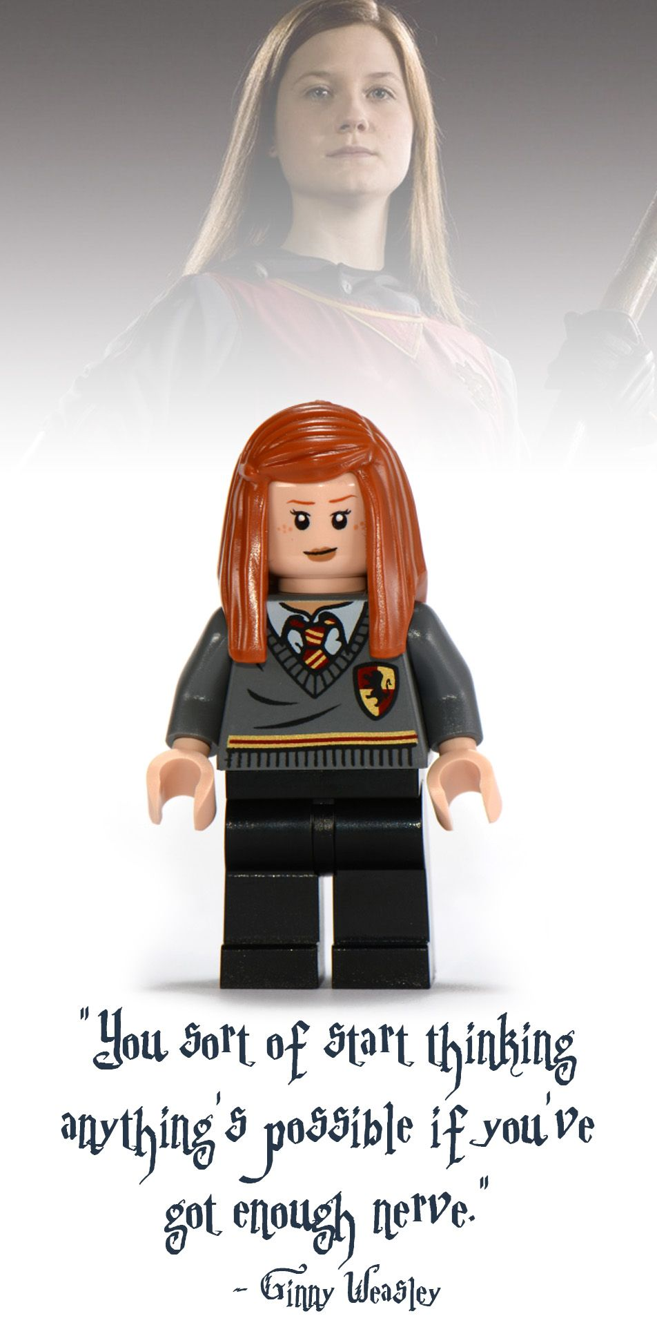 Harry Potter Hermione Ginny Ron Weasley Figures Fit lego