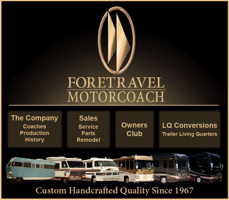 Foretravel Luxury Motorcoaches Trailer Living Nacogdoches