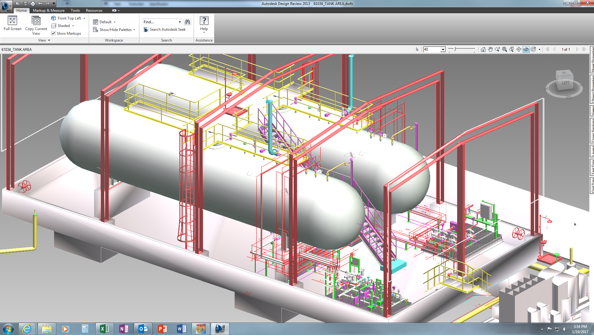 Cadworx Plant Pro For Piping Equipment Vessels And Layout Consultants Steel Supports Skids
