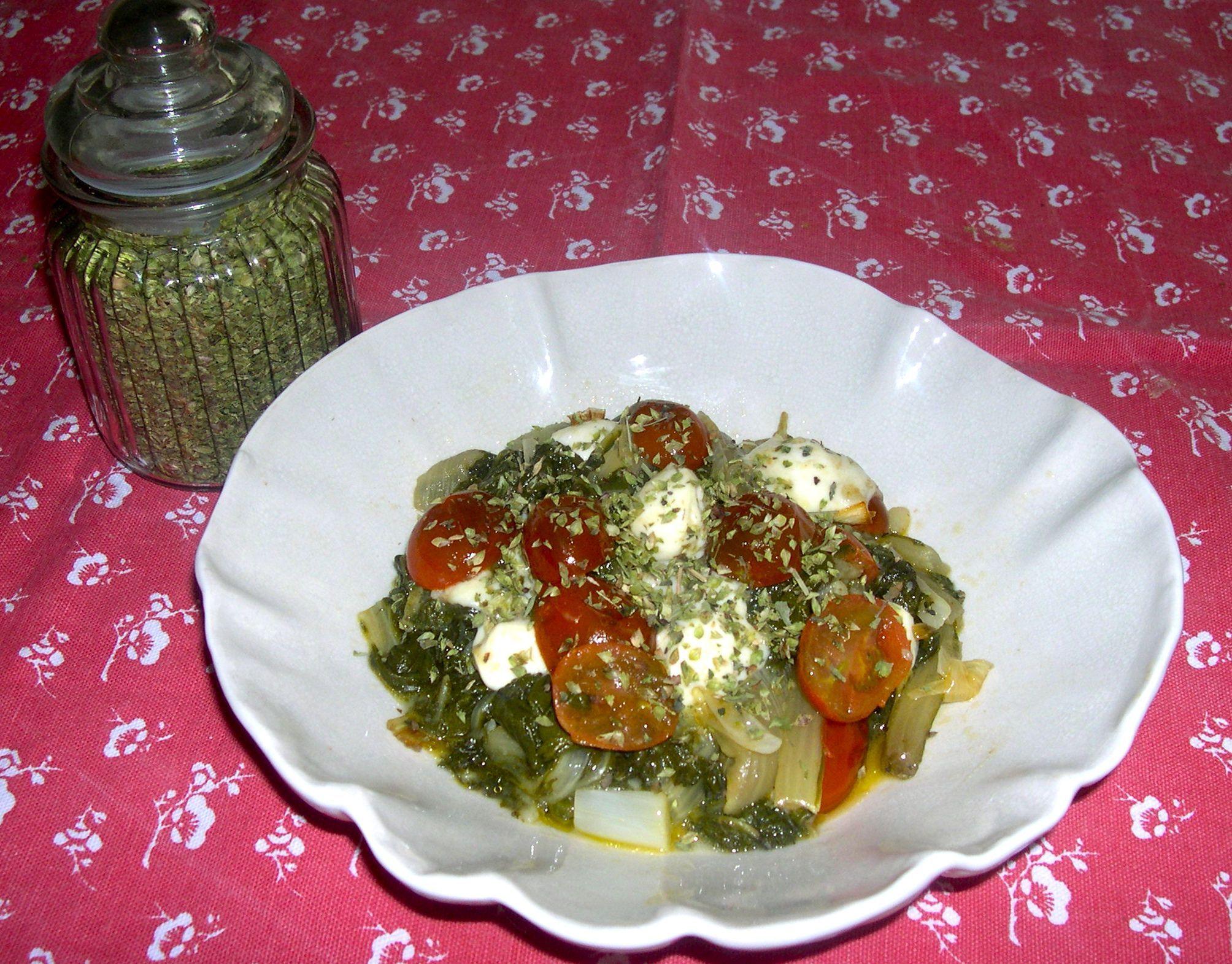 acelgas a la romana ensaladas y verduras pinterest