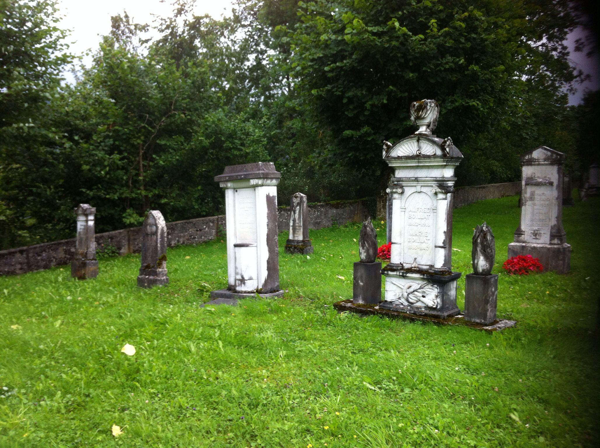 Vieux cimetière de Chaindon