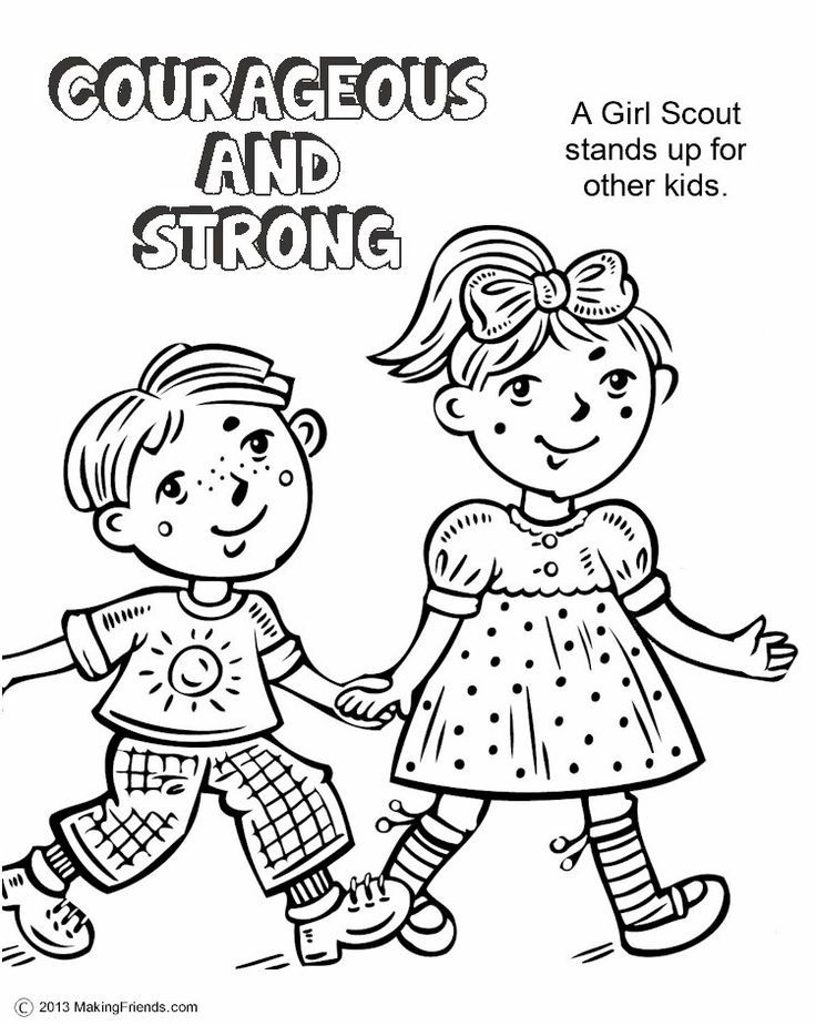 Daisy Girl Scout Coloring Pages Daisy Girl Scout Red Petal