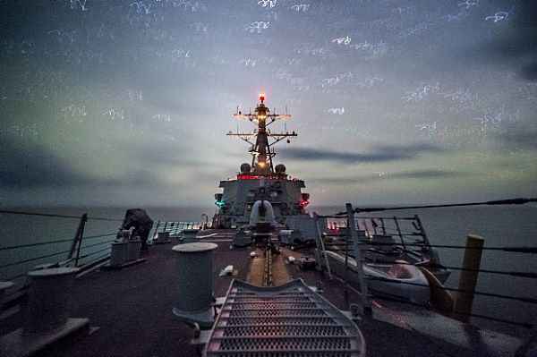 Star Light, Star Bright. The Arleigh Burke-class Guided