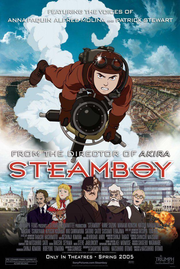Steamboy Starring Anna Paquin Patrick Stewart Alfred Molina