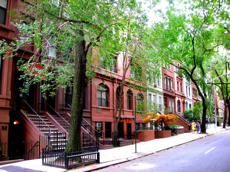 I want to live on a street like this one day in NYC