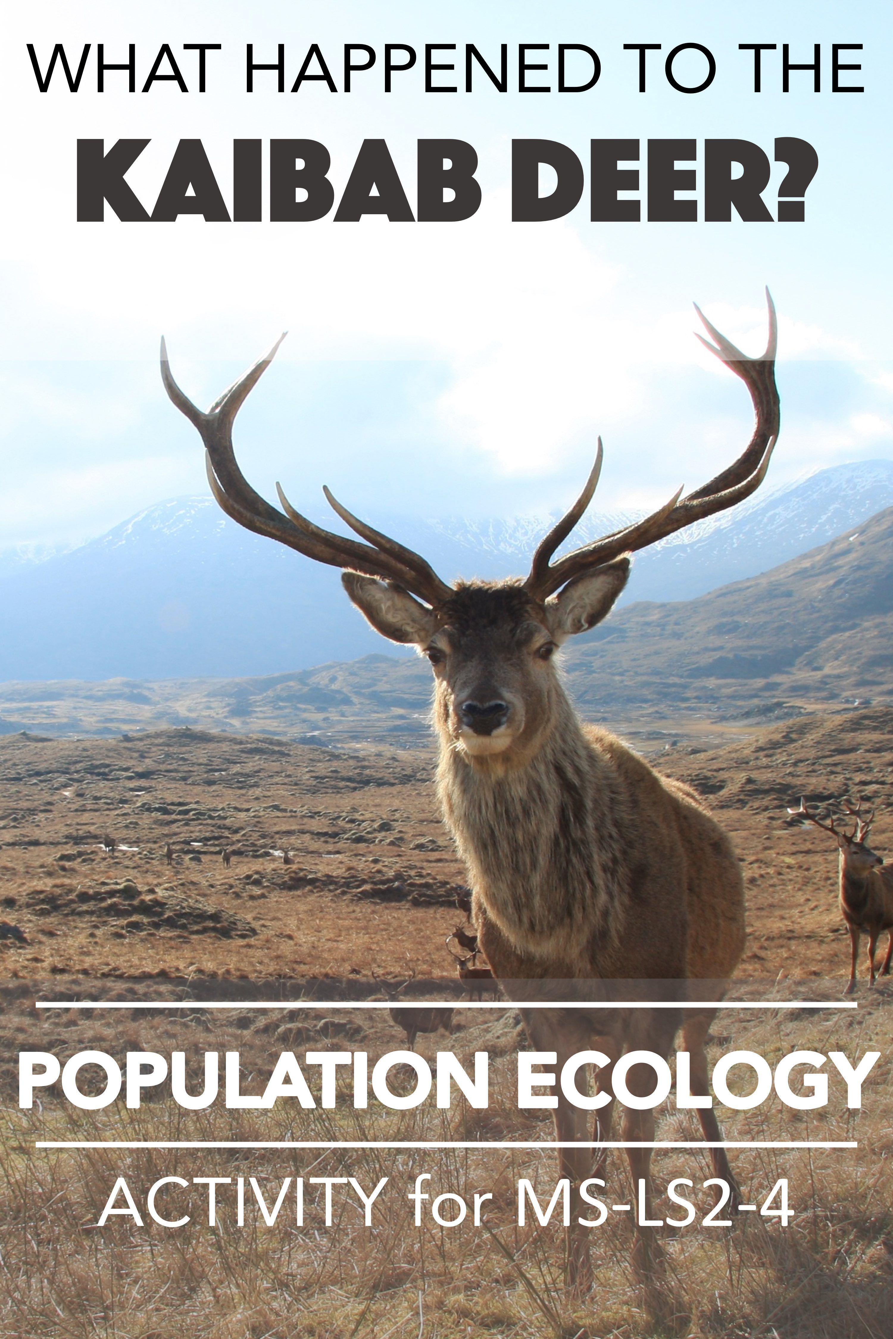 Population Ecology Scientific Argument Ms Ls2 4