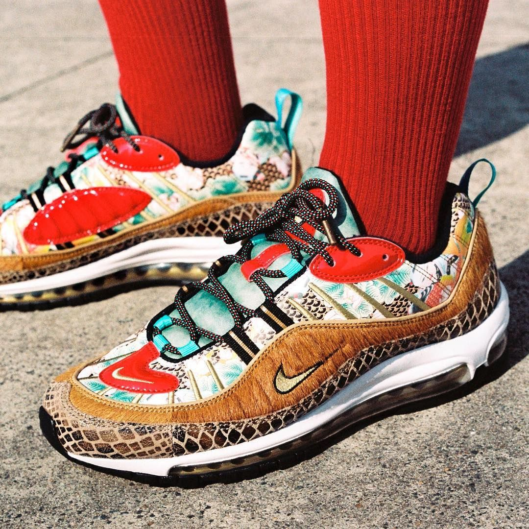 "the latest 8710d 49100 Sneaker News on Instagram: ""Nike Air Max 98 ""What The ..."