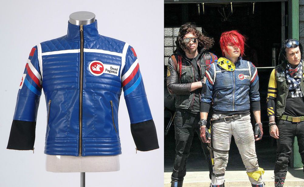 My Chemical Romance Party Poison Jacket Costume New  Black Version Size S-XL