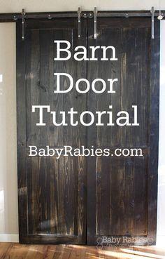 How To Build Barn Doors Home Decor Pinterest Doors Diy Barn