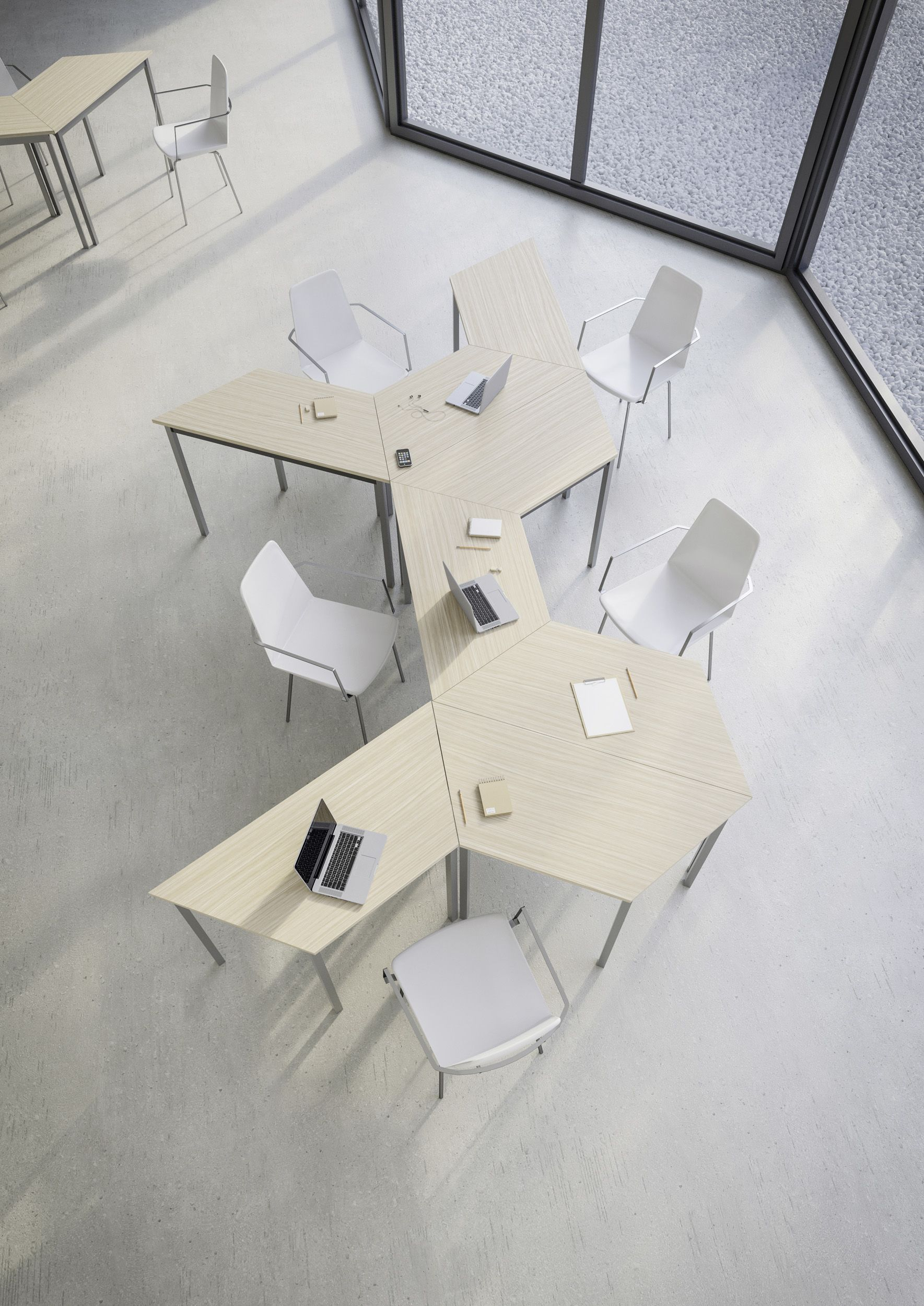Modular StructurexR Meeting Table RENCONTRE