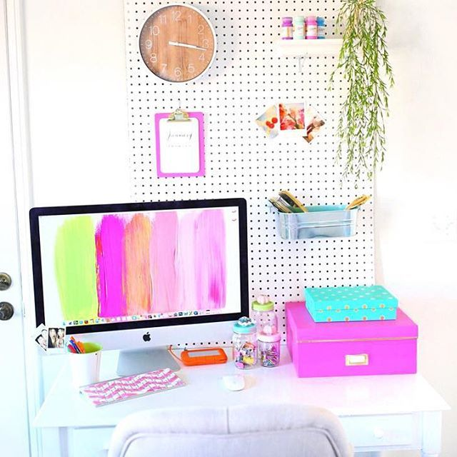 When Your Desk Is Cuter Than You ♡ Ps..new Diy Tumblr Room