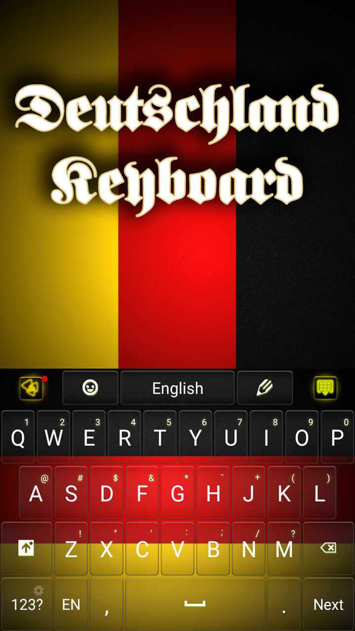 Germany Keyboard deutschland keyboard android