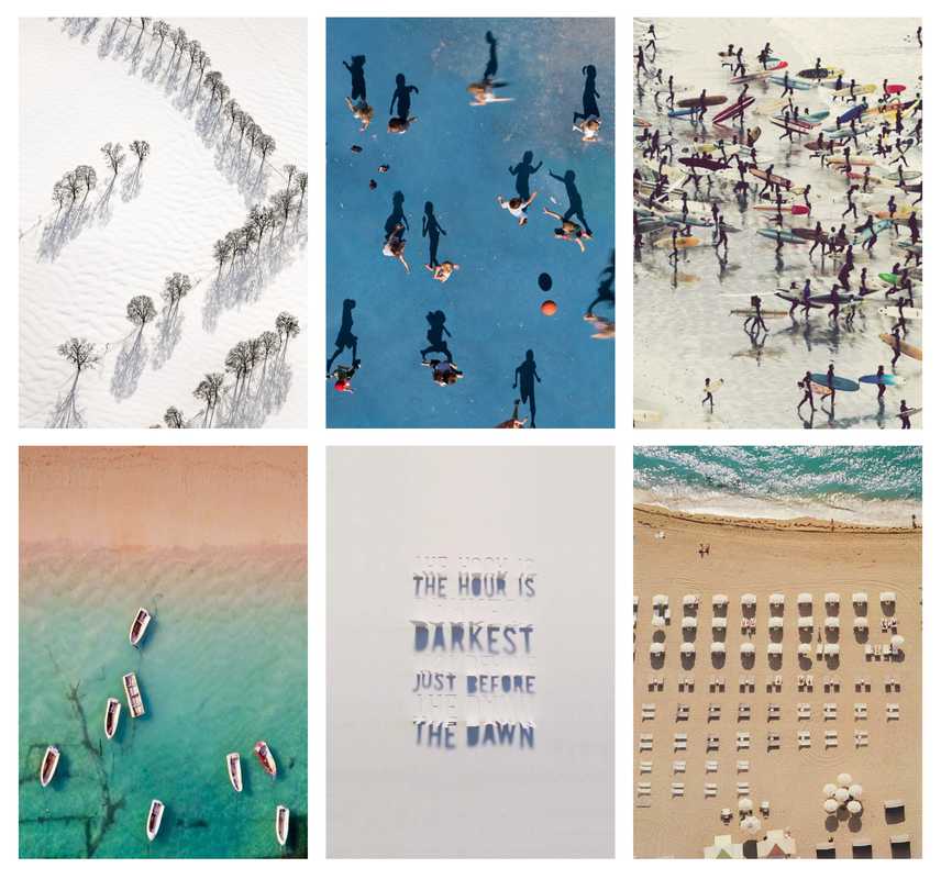 Scenes From Above | Graphic Design Inspiration from imlaurenbell.com  #perspective #graphicdesign #design #above #shadow #art #ideas #inspiration #photography