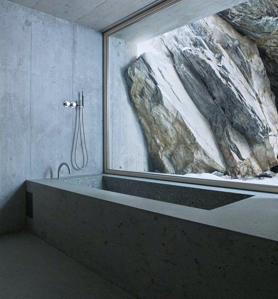 REFUGI LIEPTGAS: CONCRETE CABIN BY NICKISCH SANO WALDER ARCHITEKTEN