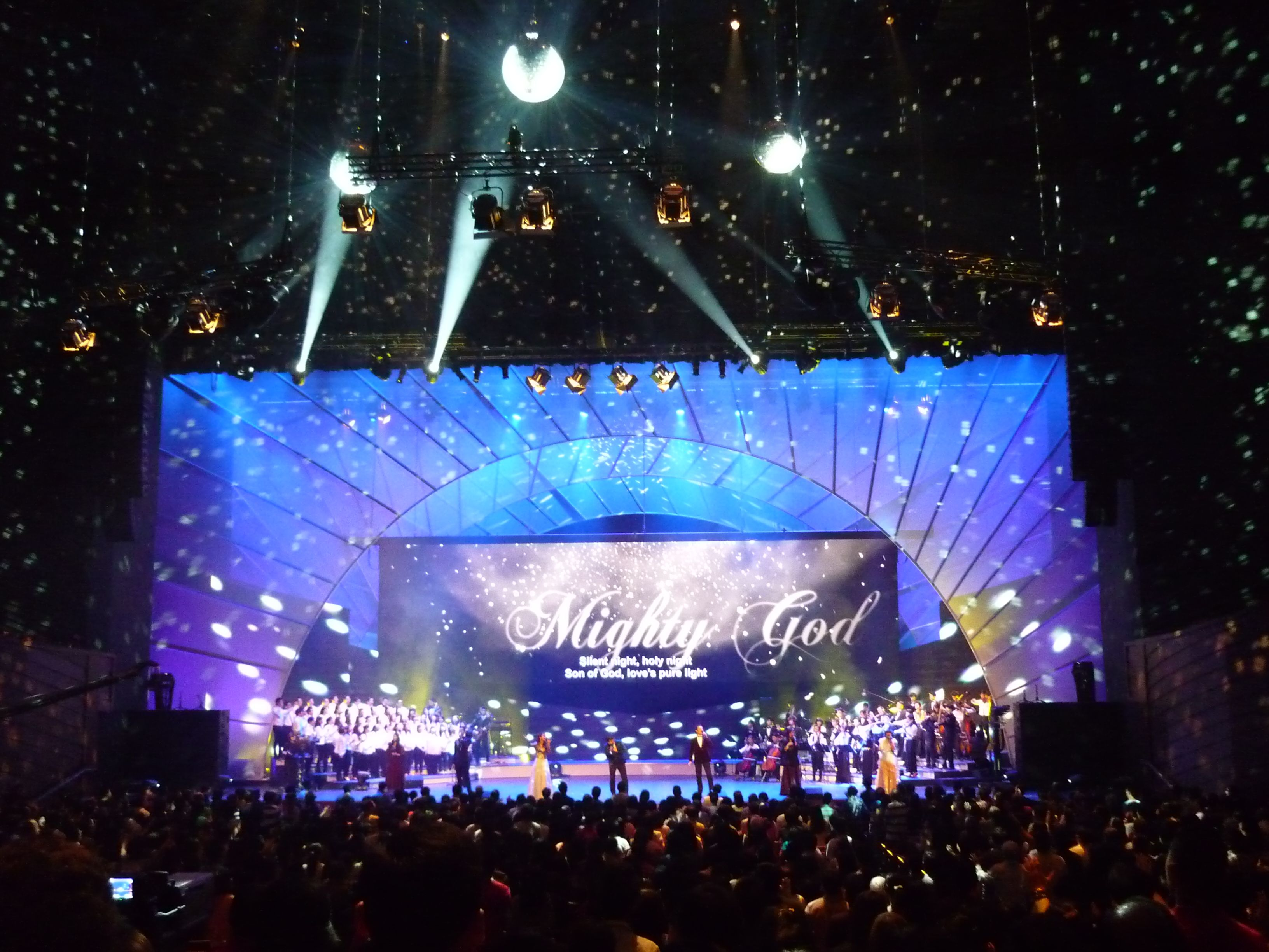 New Creation Church Stage Design