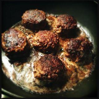 Homemade meat balls