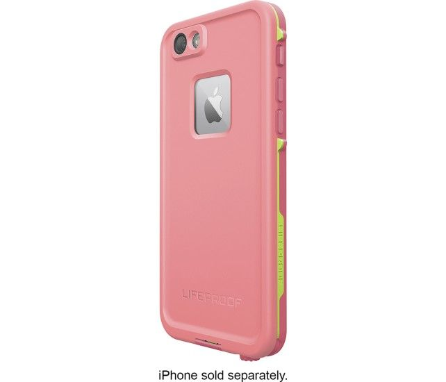 huge selection of 69287 f2e4f Lifeproof case in pink with lime green for iphone 6s plus | Birthday ...