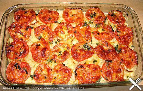 Tomato mozzarella potatoes   - Kochen -