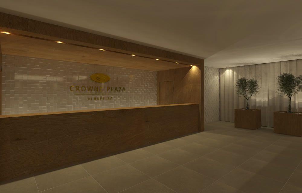 CJC Interior Design | Hotel Crowne Plaza | Entrance | Elegant | Algarve