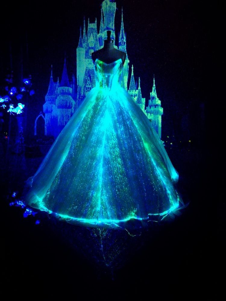 luminous Wedding Dresses glowing bridal luxury gown light up dress ...
