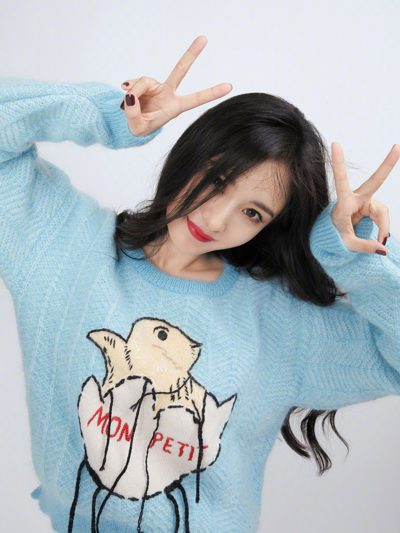 Song Qian poses for photo shoot   China Entertainment News