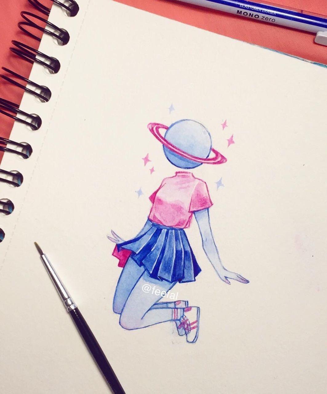 Space Kid D R A W S To Do Cosas De Dibujo Dibujos Y Arte