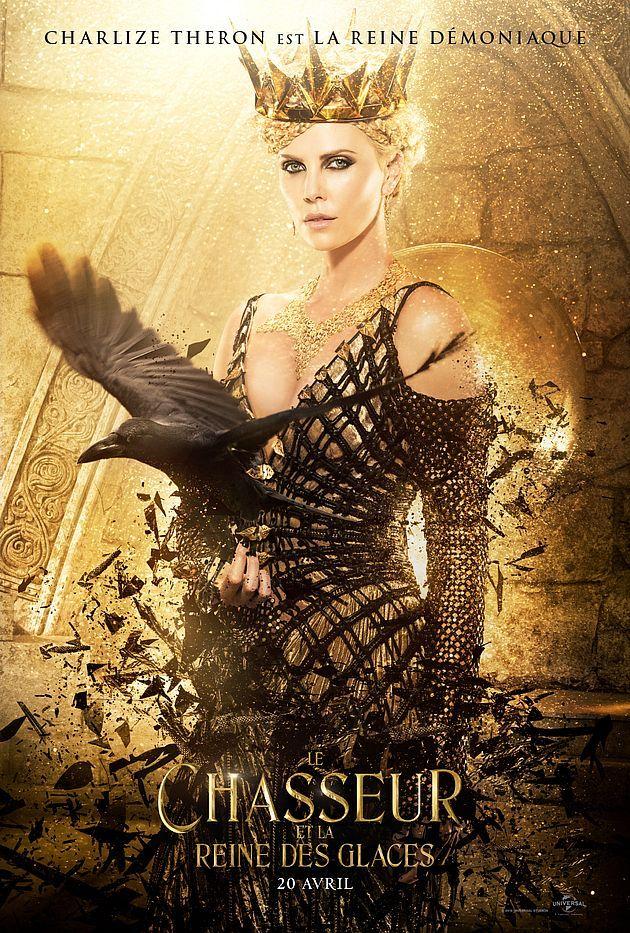 Le Chasseur Et La Reine Des Glaces Superbes Affiches Personnages Blanche Neige Et Le Chasseur Reine Des Glaces Chris Hemsworth