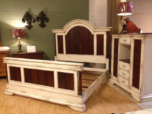 A Matching Solid Wood Bed Frame And Armoire! #shopGF | Houston TX | Gallery
